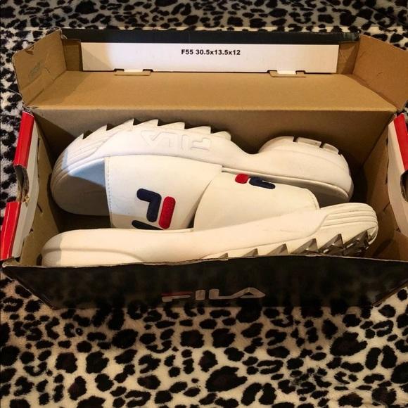 Fila Shoes - Disruptor Fila Slides/Sandals